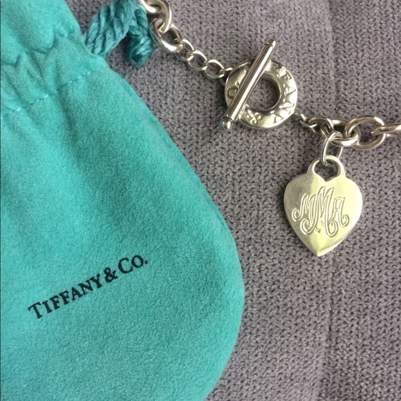 02733cd8a Tiffany & Co. Jewelry | Tiffany Co Heart Tag Necklace Sterling ...